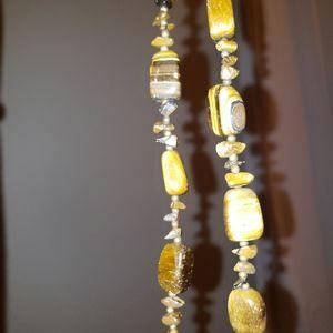 Vtg Tiger's Eye Necklace